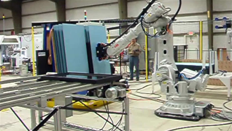 Insulated Glass Assembly : Qcomp innovation picking insulated glass units and