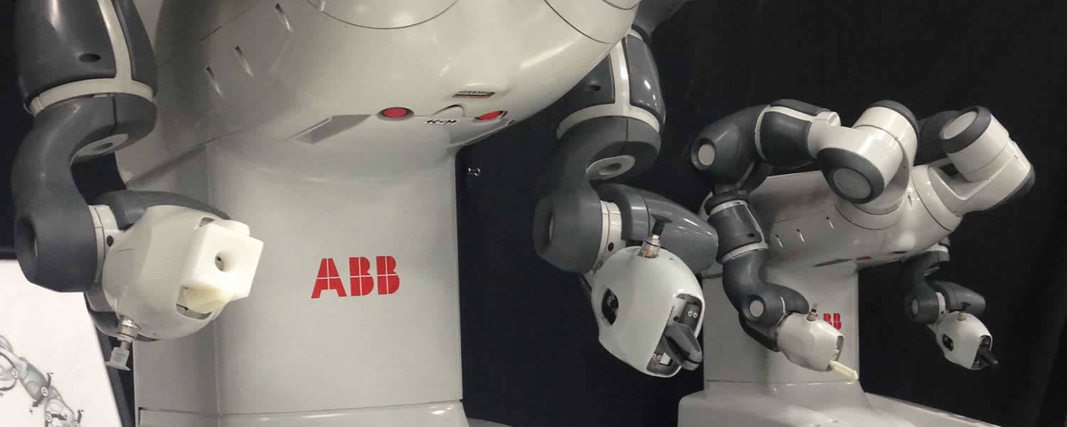photo header of QComp and ABB Yumi Collaborative Robot