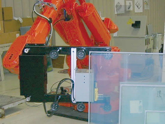 image of QComp Vision Technology for glass handling