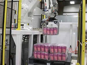 QComp Robotic Bag Palletizer photo