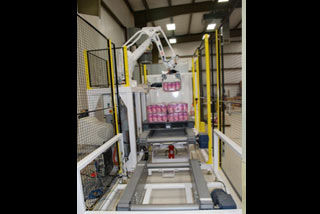 QComp Robotic Bag Palletizer slide 3