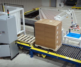 QComp Flex Palletizer photo