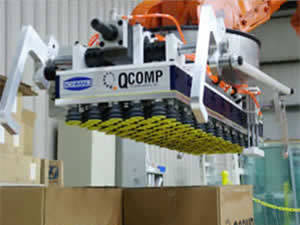 QComp robotic Specialty Palletizers photo