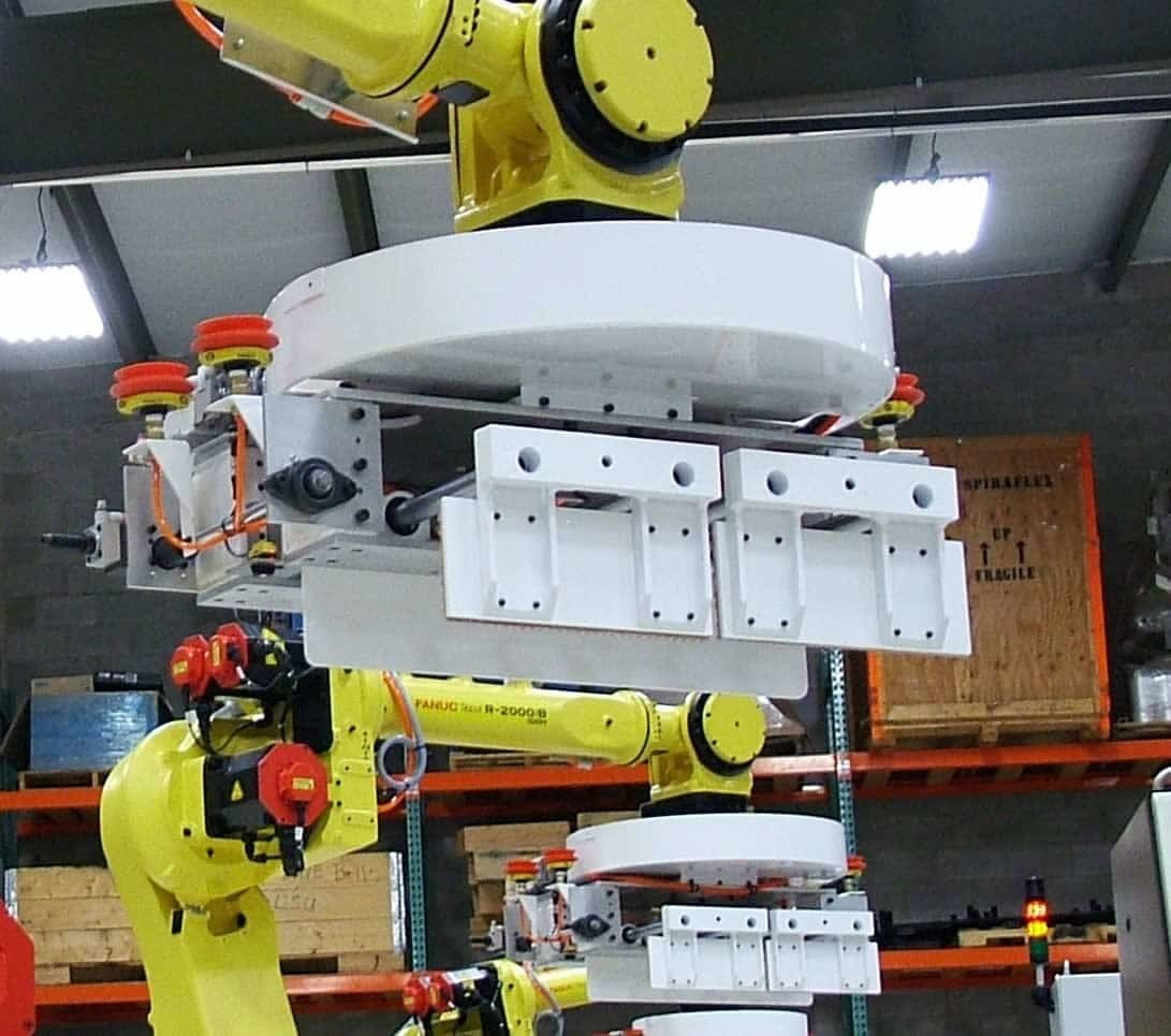 QComp large industrial robots photo 2