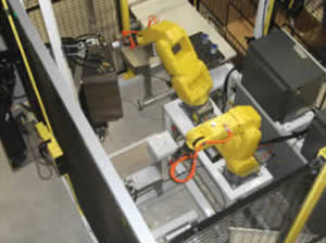 image of QComp Robotic Label & Inspect applications